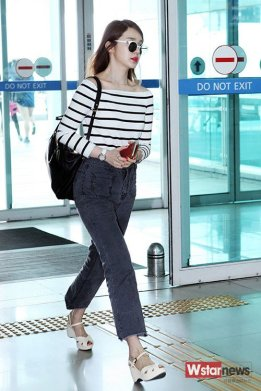 1-1 yoon Eun-hye's airport fashion