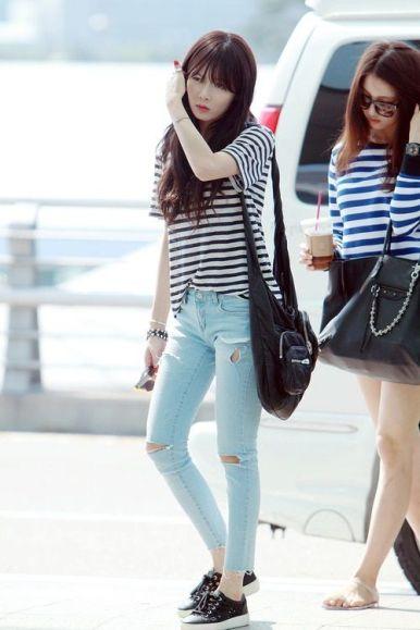 Hyuna Airport Fahion