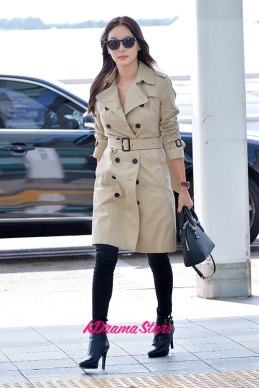Ko So Young at Incheon Airport